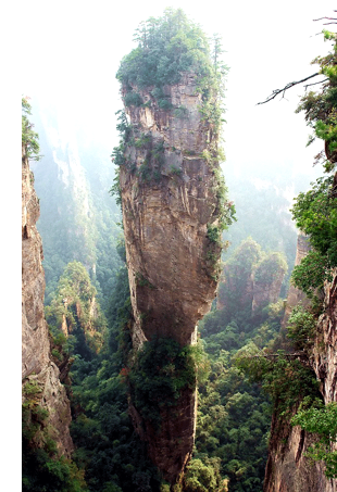 zhangjiajie cool travel blog s The Elevator of One Hundred Dragons
