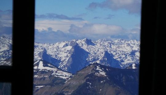 best hotel view austria travel 2 The Best View from a Hotel Room in the Austrian Alps