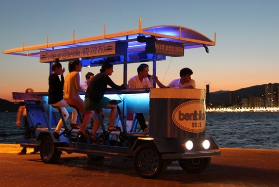 The Benidorm Beer Bike Tour