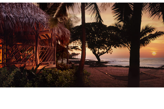 Simply Luxurious Hawaii Beach Huts