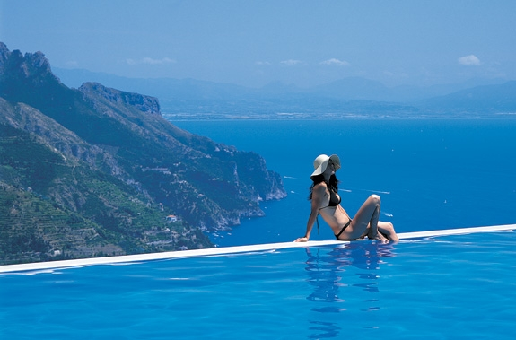Hotel Caruso Review Best Amalfi Pool 2 The View From A Room On
